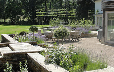 mill house garden design and landscape
